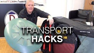 Evoc Bike Travel Bag XL - Wichtige Fahrradkoffer-Hacks für die Fahrradtransporttasche im Flugzeug!