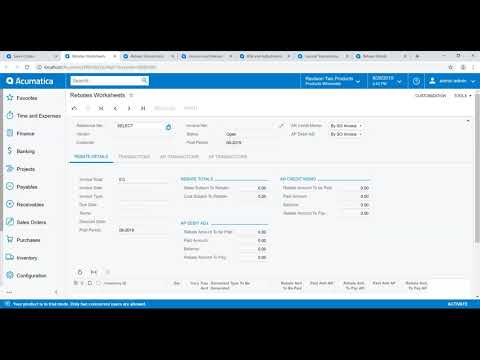 Rebate Processing Overview