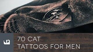 70 Cat Tattoos For Men