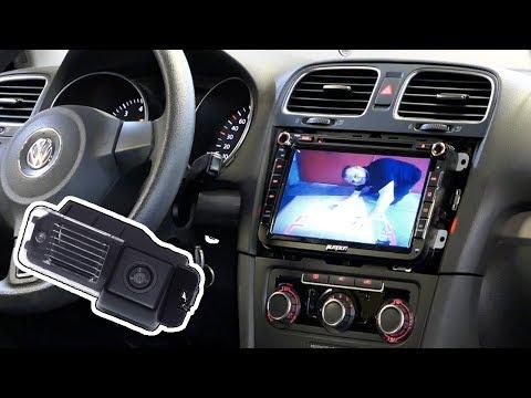 VW Golf 6 Rückfahrkamera einbauen - nachrüsten