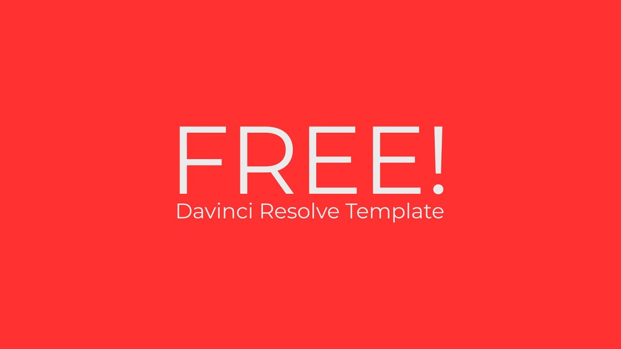Clean Abstract Promo - Davinci Resolve Templates
