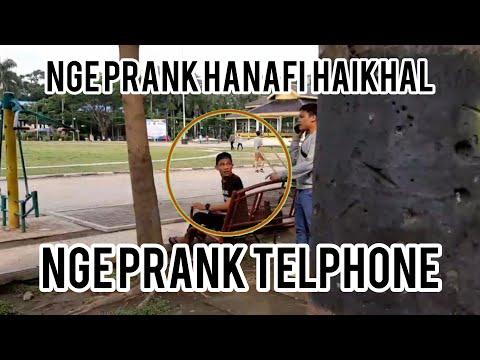 Prank telphone di umum ,ngeprank hanafi haikhal || prank indonesia ||