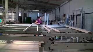 Lavorazione Pannello ; wood panel