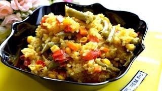 Как приготовить рис с овощами в мультиварке удивительно вкусным