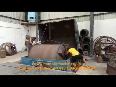 8HP Oven Type Rotational Moulding Machine