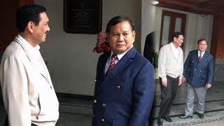 Pilpres 2019 Kian Dekat, Diam-diam Prabowo Lakukan Pertemuan dengan Luhut di Hotel Bintang Lima
