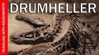 Drumheller Alberta Canada | Royal Tyrrell Museum dinosaur fossils