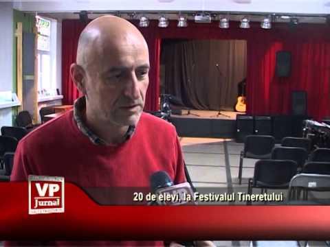 20 de elevi, la Festivalul Tineretului