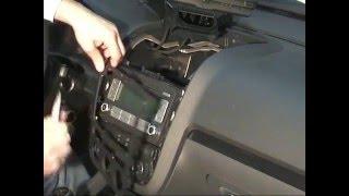 Cambio De Radio Golf 5 / Radio Golf 5 / How To Remove Radio Unit Golf 5