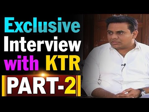 Exclusive Interview with KTR Over TRS Politics | Early Polls In Telangana | Part 2 | ABN Telugu