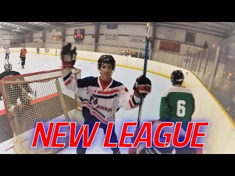 GoPro Roller Hockey - FIRST GAME, NEW LEAGUE (HD)