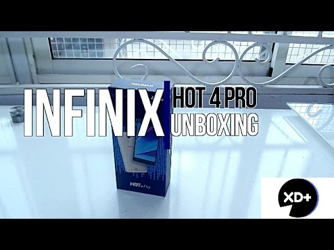 Infinix Hot 4 Pro Unboxing & First Impressions