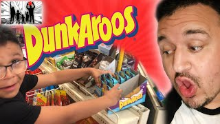 WE WENT HUNTING FOR DUNKAROOS | DINGLEHOPPERZ VLOG