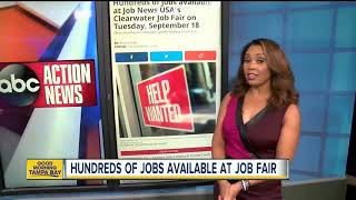 Hundreds Of Jobs At Career Fair On Tuesday