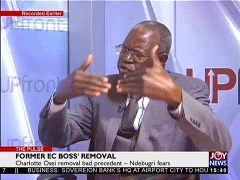 Former EC Boss' Removal - The Pulse on JoyNews (3-8-18)