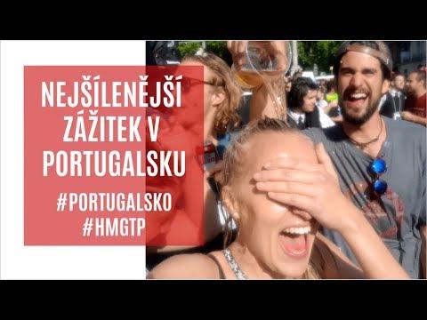 NEJŠÍLENĚJŠÍ ZÁŽÍTEK V PORTUGALSKU | Queima das Fitas | #HMGTP