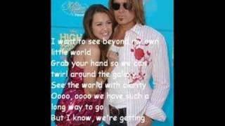 Bigger Than Us By Hannah Montana w/ lyrics