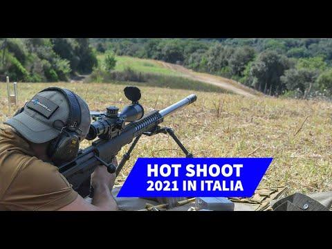 eventi: Hot Shoot in Italia agosto 2021: un evento di tiro a distanze estreme. L'esperienza di Danielle Valkyrie e Franco nel video