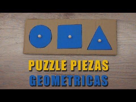 Puzzle Piezas Geométricas