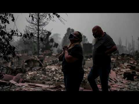 'All gone': Residents return to scorched Oregon town