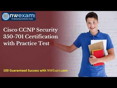 Cisco CCNP Security 350-701 Certification | Syllabus | Practice Test ...