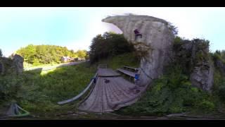 Film 360 stopni z Ojcowskiego Parku Narodowego