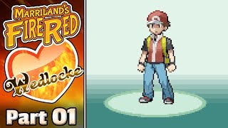 Pokémon FireRed Wedlocke, Part 01: Color Pallet!