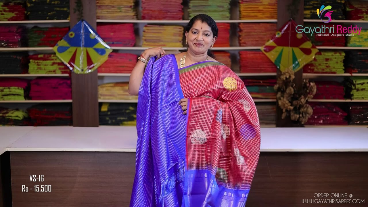 "<p style=""color: red"">Video : </p>New Venkatagiri Sarees Collection 