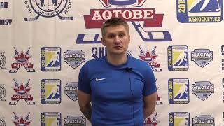 ОЧРК 2019/2020 Андрей Спиридонов: Очки нам сейчас очень нужны ХК «Актобе» - ХК «Иртыш»