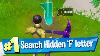 Search Hidden 'F' Found In The New World Loading Screen   Fortnite Battle Royale