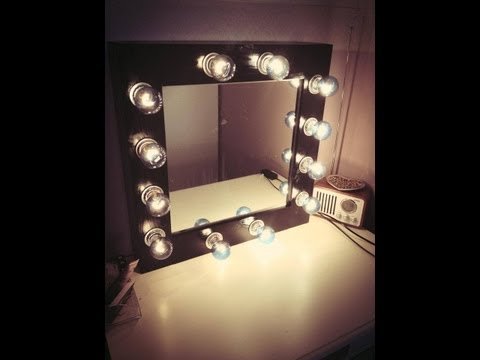 diy makeup vanity mirror. Diy Makeup Vanity Mirror E