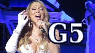 Mariah Carey - Live Belted G5 in 2014 (Unrecognized)