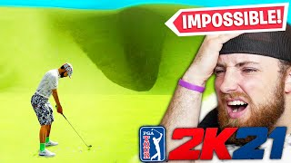 THE WORLD'S HARDEST GOLF COURSE! PGA Tour 2K21 Gameplay