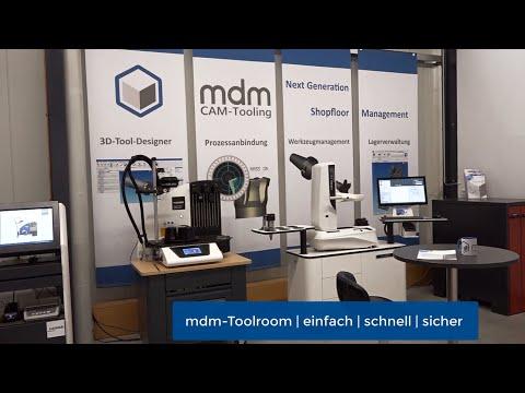 Werkzeugverwaltung und Shopfloor-Management mit dem mdm Toolroom