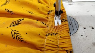 Easy To Create Style || How To Attach Elastic In Skirt || Diy Sewing Tutorial
