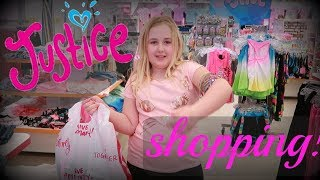 SUMMER CLOTHES SHOPPING AT JUSTICE FOR GIRLS