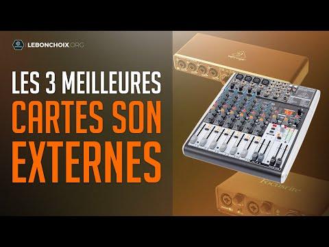 🔴 TOP 3 : MEILLEURE CARTE SON 2020❓( COMPARATIF & TEST )