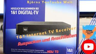 1und1 IP Internet TV Receiver anschließen und verbinden Tutorail