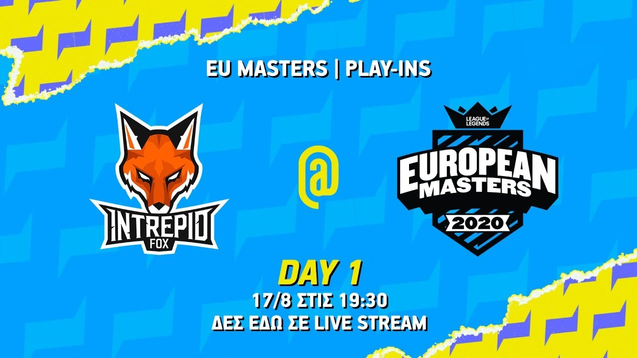 7more7 Pompa Team vs Intrepid Fox Gaming - European Masters Summer 2020                                                                     Group A - LoL
