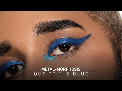 Blue Metallic Makeup Tutorial |Blue Metallic Eyeshadow |  Metallic Makeup Look| MyGlamm