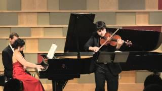 Paul Laraia and Hanwen Yu plays Rachmaninov Sonata (SiMon)