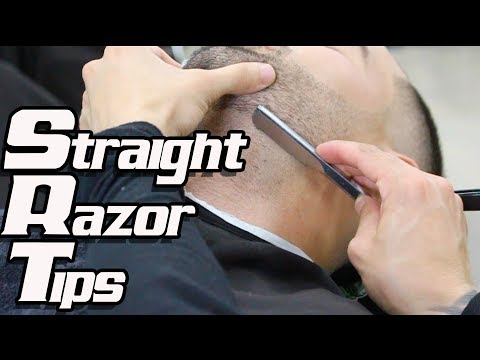 Straight Razor Tutorial – Barber Tips
