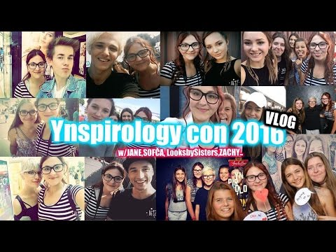 VLOG-Ynspirology CON 2016!!:)))w/Renča,Janča,Sofča,Zachy...