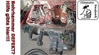 Bohrhammer oder Stemmhammer defekt? Hilfe bei der Fehlersuche!