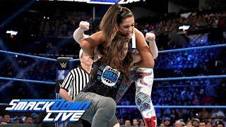 Bayley vs. Nikki Cross: SmackDown LIVE, July 2, 2019