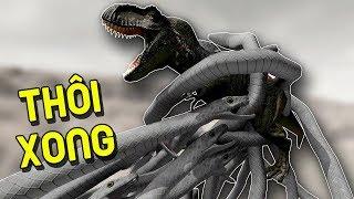 ĐẤU TRƯỜNG KHỦNG LONG T-REX BỊ ĐÁNH HỘI ĐỒNG NÁT ĐẦU !!! | Beast Battle Simulator #4 | POBBrose ✔