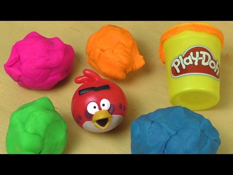 Play Doh ANGRY BIRDS Surprise Fun Unboxing Mp3
