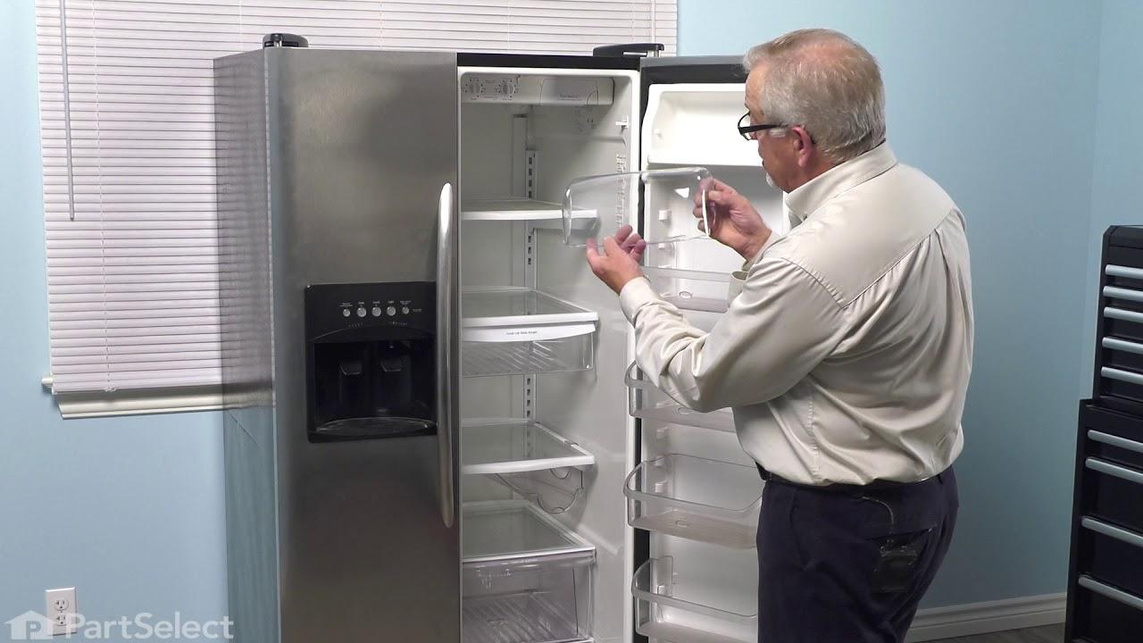 Replacing your Frigidaire Refrigerator Dairy Door
