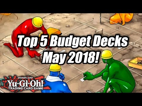 Yu-Gi-Oh! Top 5 Competitive Budget Decks for the May 2018 Format!