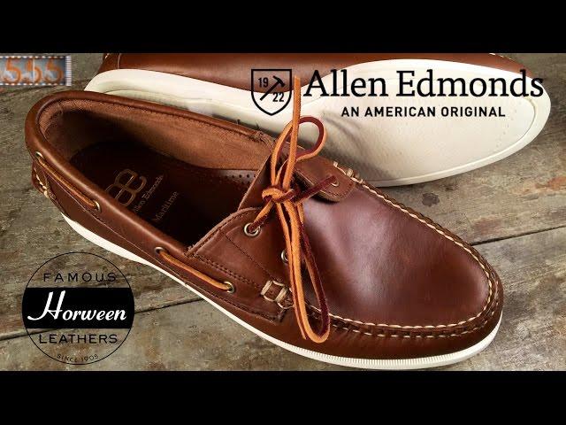 Review: Allen Edmonds Maritime Boat Shoes | Horween Chromexcel Top-Siders